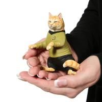 Gallery Image of James T. Kirk Cat Statue