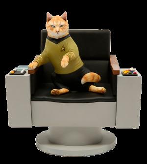 James T. Kirk Cat Statue