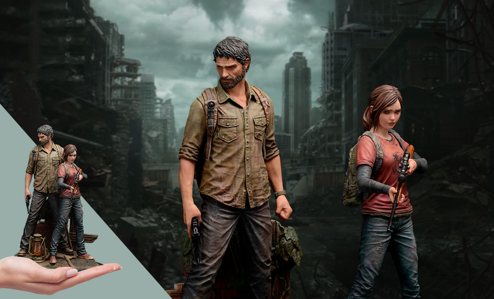 Gallery Feature Image of Joel and Ellie Collectible Figure - Click to open image gallery