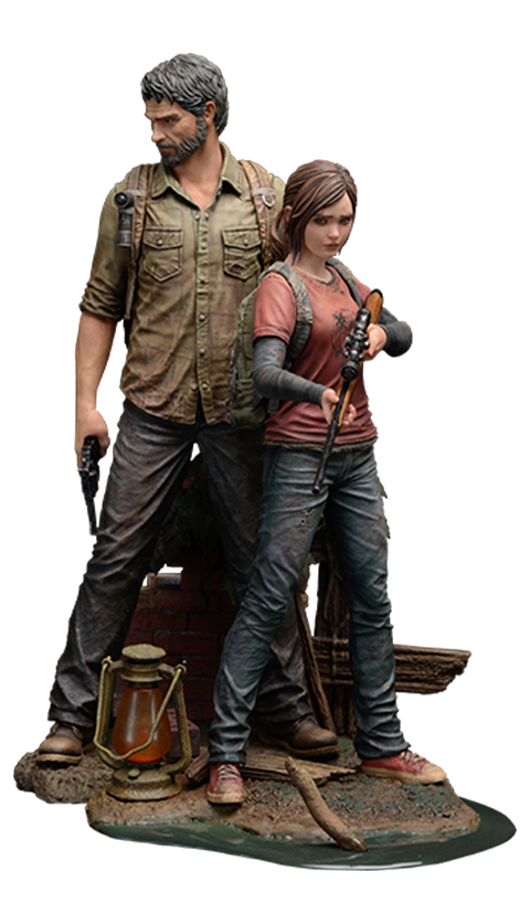 Mamegyorai Joel and Ellie Collectible Figure