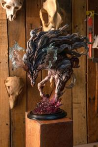 Gallery Image of Ice Kirin Bust Statue