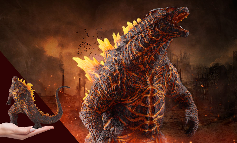 Gallery Feature Image of Godzilla (2019) Burning Version Collectible Figure - Click to open image gallery