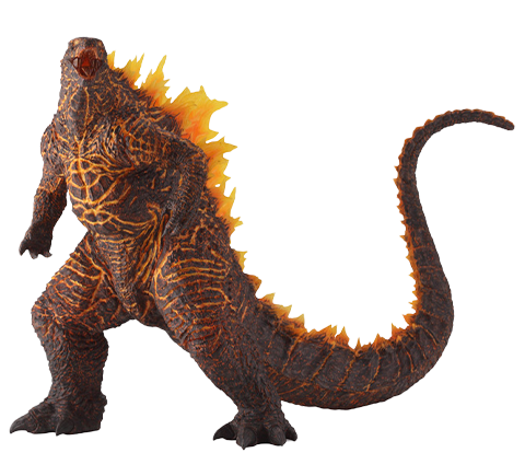 Art Spirits Godzilla (2019) Burning Version Collectible Figure