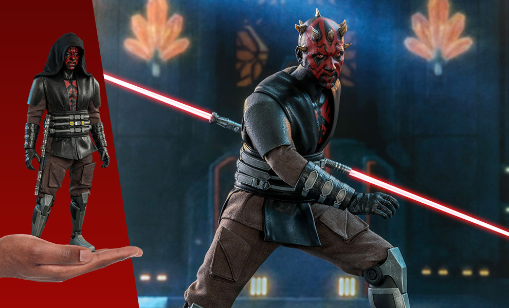 Gallery Feature Image of Darth Maul™ Sixth Scale Figure - Click to open image gallery