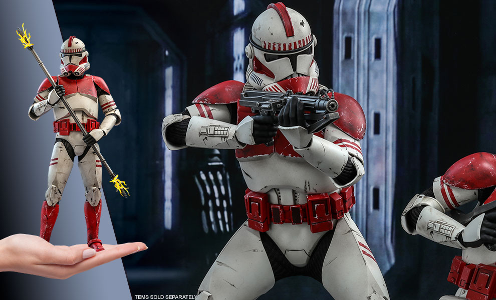 Gallery Feature Image of Coruscant Guard™ Sixth Scale Figure - Click to open image gallery