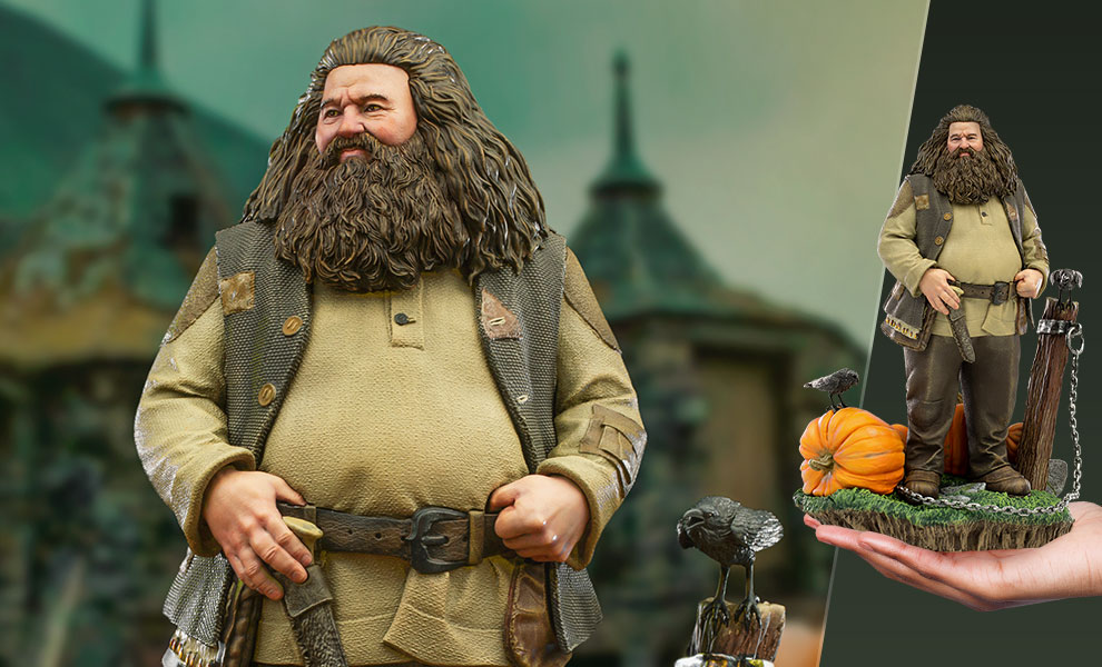 Gallery Feature Image of Hagrid Deluxe 1:10 Scale Statue - Click to open image gallery