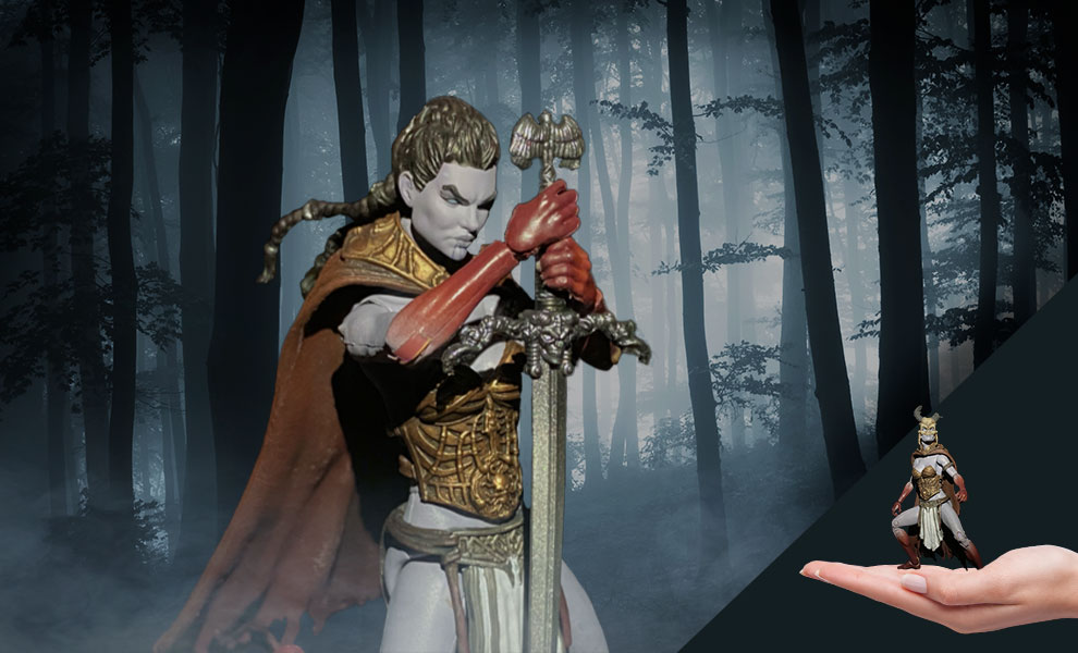 Gallery Feature Image of Kier Valkyrie of the Dead Action Figure - Click to open image gallery