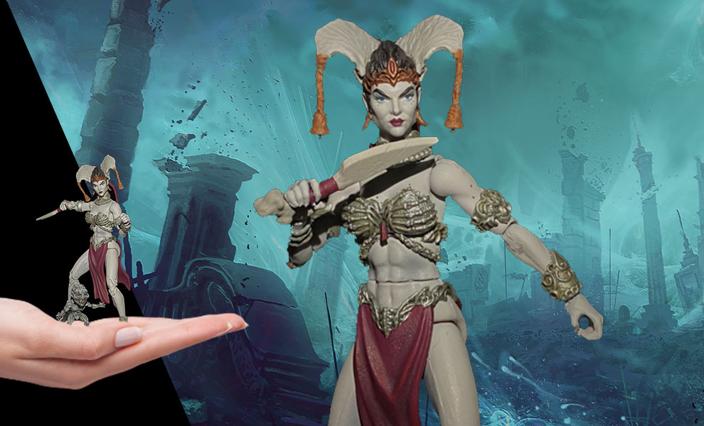 Gallery Feature Image of Gethsemoni Queen of the Dead Action Figure - Click to open image gallery