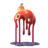 Gallery Image of Melting Bomb (Infrared Edition) Polystone Statue