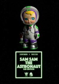 Gallery Image of Sam Sam the Astronaut (GID Edition) Collectible Figure