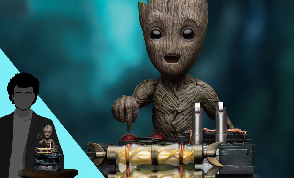 Gallery Feature Image of Groot Statue - Click to open image gallery