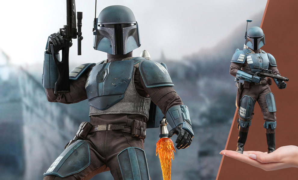 Gallery Feature Image of Death Watch Mandalorian Sixth Scale Figure - Click to open image gallery