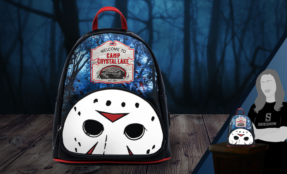 Gallery Feature Image of Friday the 13th Camp Crystal Lake Mini Backpack Apparel - Click to open image gallery
