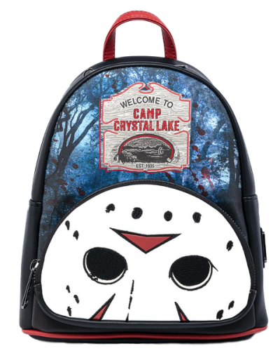 Friday the 13th Camp Crystal Lake Mini Backpack Apparel