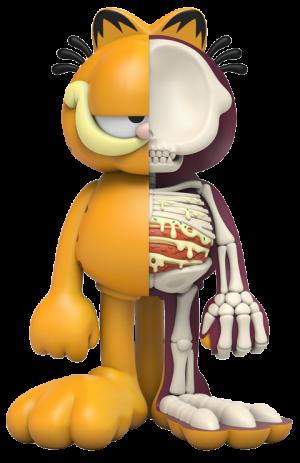 XXRAY Plus: Garfield Collectible Figure