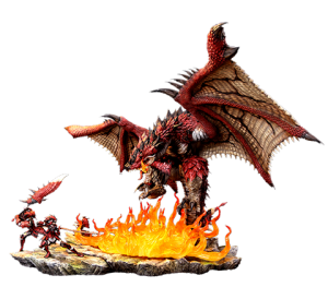 Rathalos: The Fiery Bundle Diorama