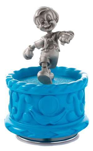 Pinocchio Musical Carousel Pewter Collectible
