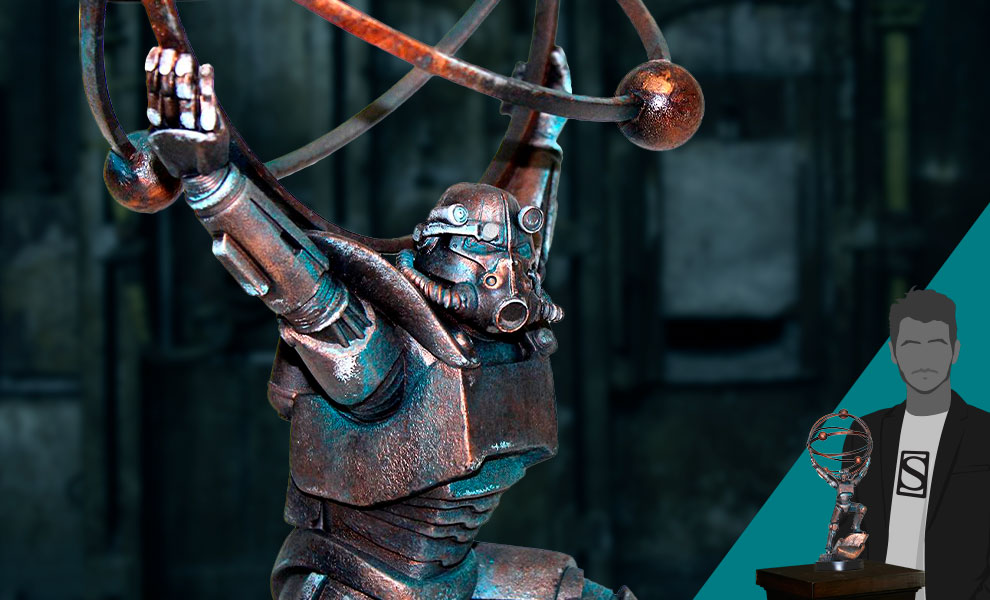 Gallery Feature Image of Atomic Atlas Statue - Click to open image gallery