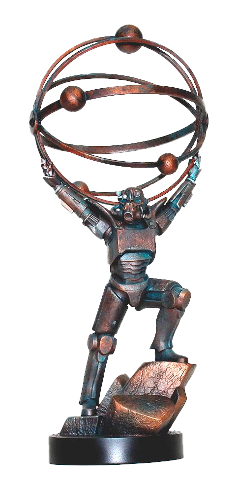 Chronicle Collectibles Atomic Atlas Statue