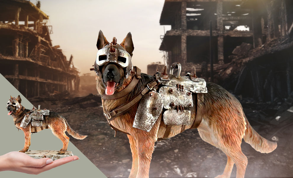 Gallery Feature Image of Dogmeat Statue - Click to open image gallery