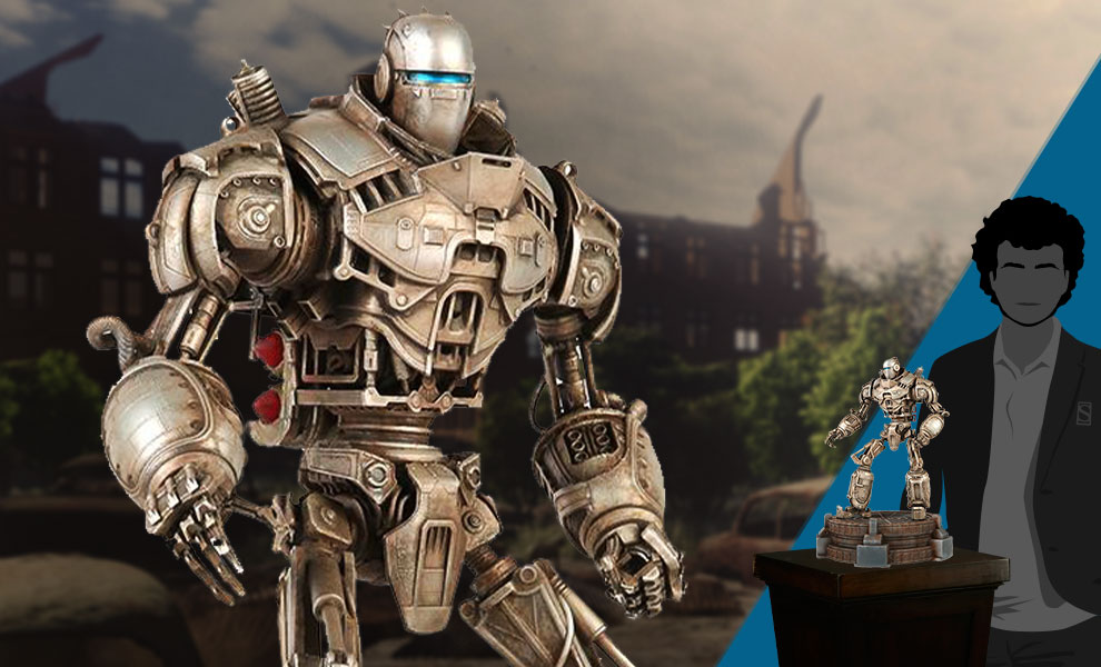 Gallery Feature Image of Liberty Prime Statue - Click to open image gallery