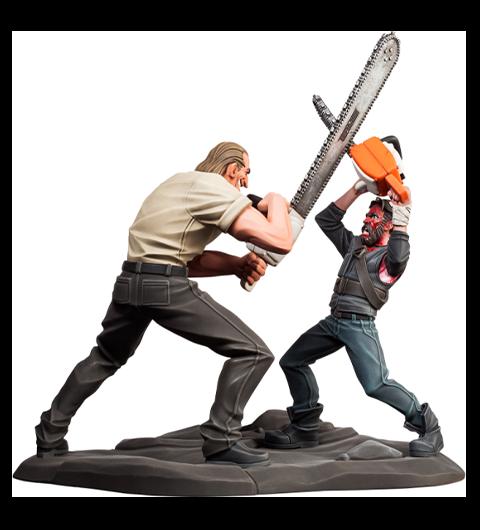 Level52 Studios Mandy (Chainsaw Battle) Polystone Statue