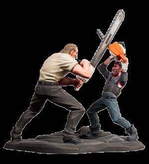 Mandy (Chainsaw Battle) Polystone Statue