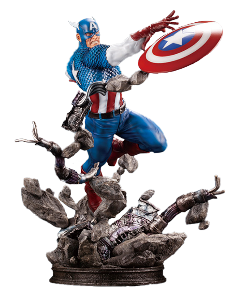 Kotobukiya Captain America Statue