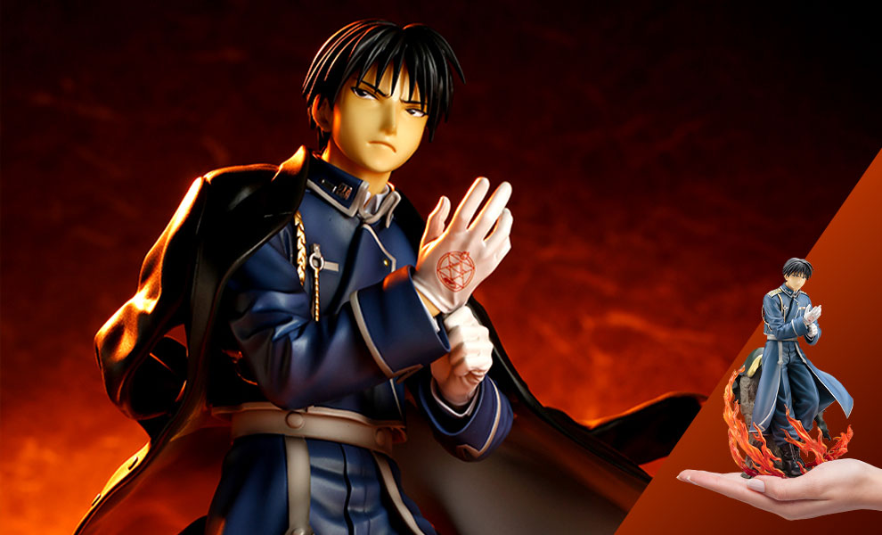 Gallery Feature Image of Roy Mustang Statue - Click to open image gallery