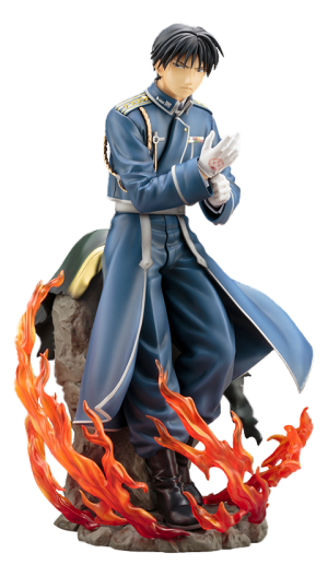 Roy Mustang Statue