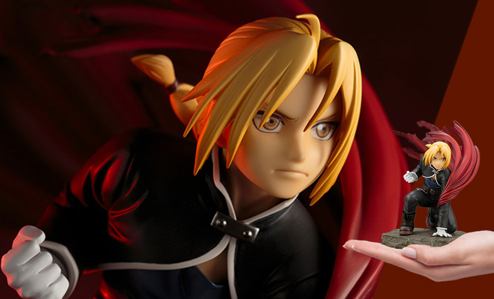 Gallery Feature Image of Edward Elric Statue - Click to open image gallery