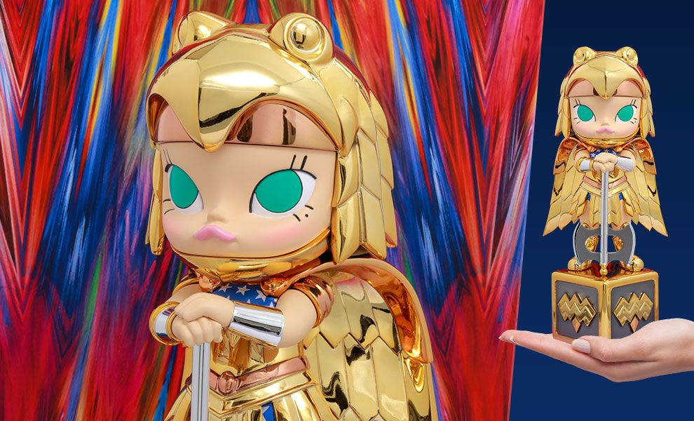 Gallery Feature Image of Molly (Golden Armor Wonder Woman Disguise) Collectible Figure - Click to open image gallery