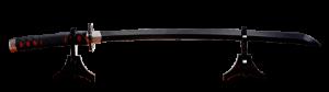 Nichirin Sword (Tanjiro Kamado) Replica