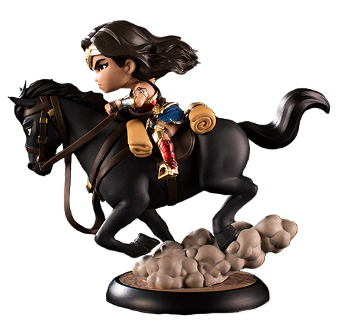 Quantum Mechanix Wonder Woman Q-Fig MAX Collectible Figure