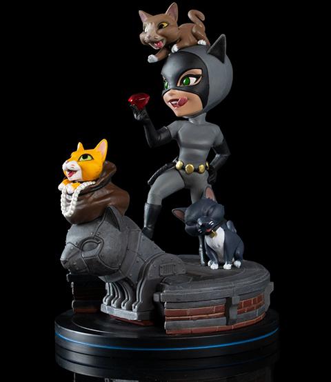 Quantum Mechanix Catwoman Q-Fig Elite Collectible Figure