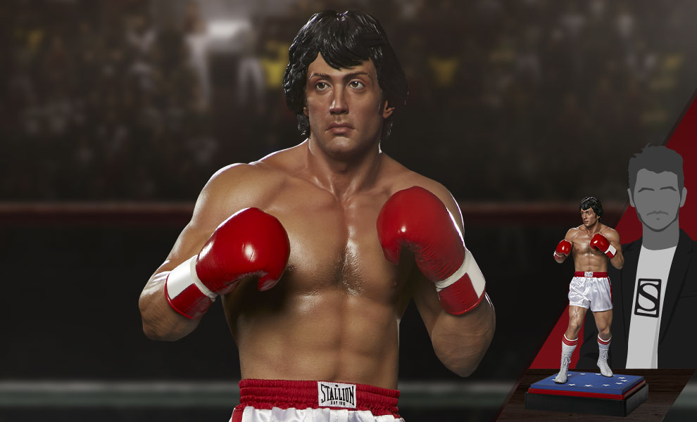 Gallery Feature Image of Rocky 1:3 Scale Statue - Click to open image gallery