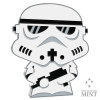 Gallery Image of Stormtrooper 1oz Silver Coin Silver Collectible