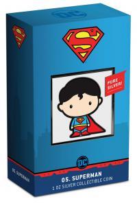 Gallery Image of Superman 1oz Silver Coin Silver Collectible