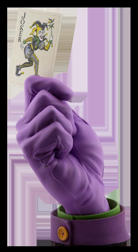 Cryptozoic Entertainment Joker's Calling Card Statue