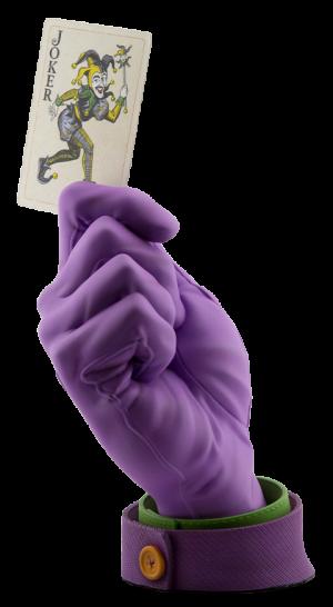 Joker's Calling Card Statue