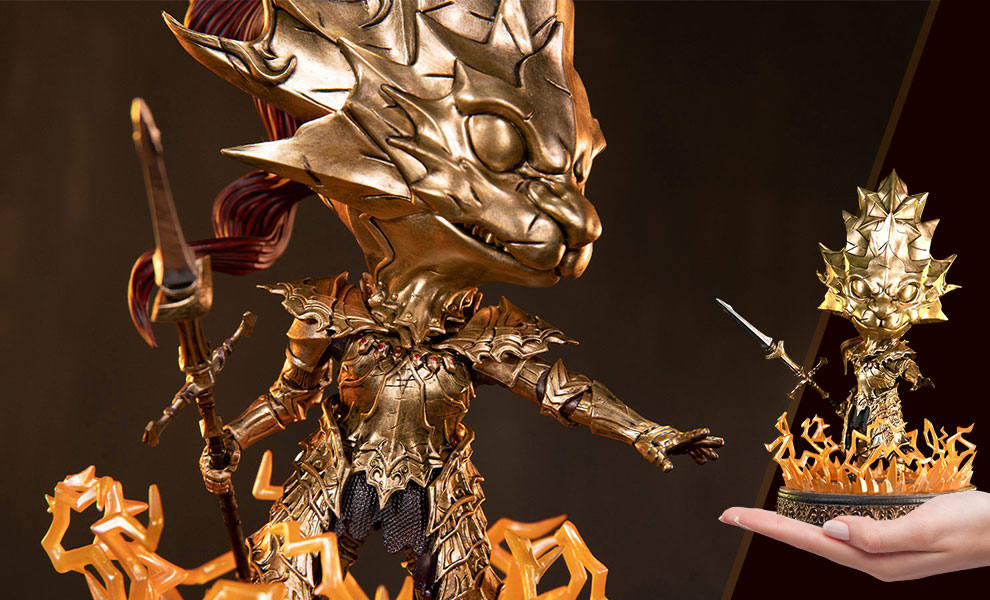 Gallery Feature Image of Dragon Slayer Ornstein SD Statue - Click to open image gallery