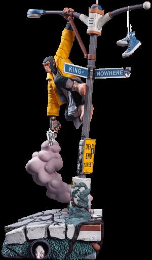 Bili: The Angry Ape Polystone Statue