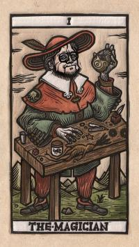 Gallery Image of Tarot del Toro: A Tarot Deck and Guidebook Inspired by the World of Guillermo del Toro Book