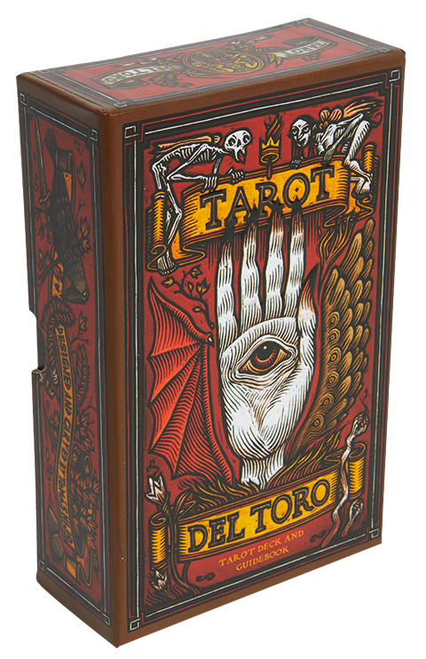 Insight Editions Tarot del Toro: A Tarot Deck and Guidebook Inspired by the World of Guillermo del Toro Book