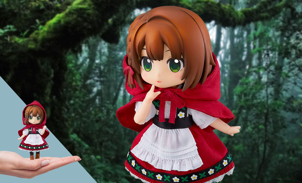 Gallery Feature Image of Little Red Riding Hood: Rose Nendoroid Doll Collectible Figure - Click to open image gallery