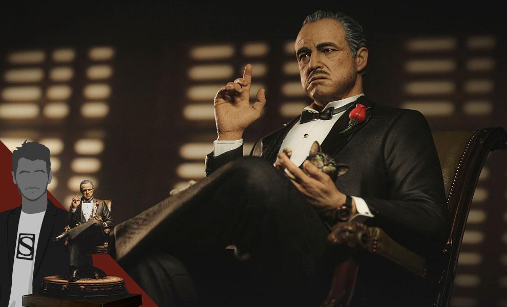 Gallery Feature Image of Vito Andolini Corleone (1972) Statue - Click to open image gallery