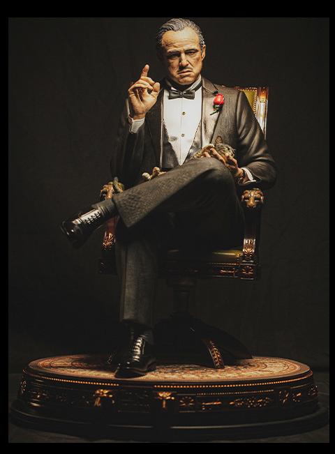 Damtoys Vito Andolini Corleone (1972) Statue
