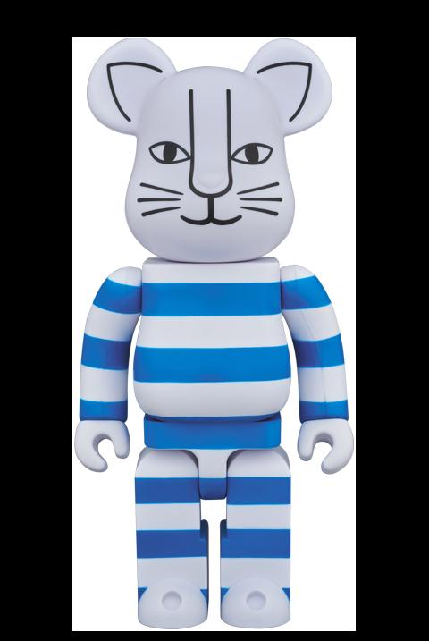 "Medicom Toy Be@rbrick ""Mikey"" (Blue Version) 400% Figure"