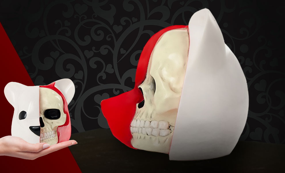 Gallery Feature Image of Dissected Bear Head (White) Vinyl Collectible - Click to open image gallery