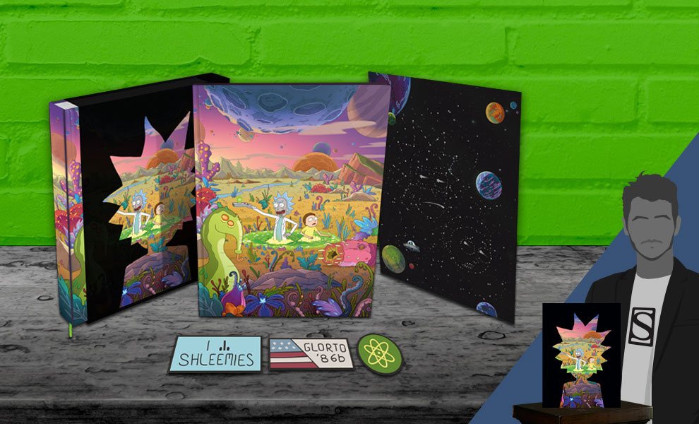 Gallery Feature Image of The Art of Rick and Morty Volume 2 (Deluxe Edition) Book - Click to open image gallery